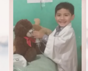 Carlitos wants to be a vet